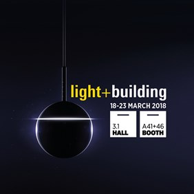 See you at Light + Building 2018