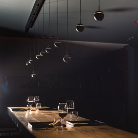 Restaurant lighting with SNOOKER